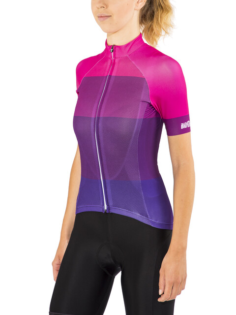 Red Cycling Products Colorblock Race Kortärmad cykeltröja Dam pink/violett